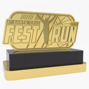 06- TROFÉU EXCLUSIVO FAST RUN - SANTA CRUZ